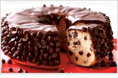 Sour Cream-Chocolate Chip Cake