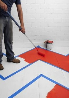 Pro Tips: Decorative Floor Painting