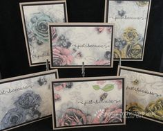 Timeless Elegance with Note Card Economic way to cut your designer paper