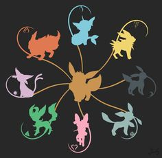 Eeveelution Gen 6. by @JCS_Pokemon by JCSdesign