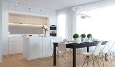 Morden kitchen and living room in Prague - https://interiordesign.io/morden-kitchen-and-living-room-in-prague/