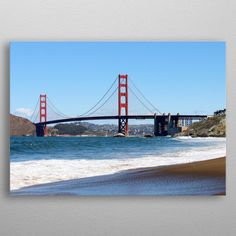 Golden Gate Bridge by James Lawless Wall Art Prints, Canvas Prints, Golden Gate Bridge, Canvas Art, Wall Decor, Posters, Fine Art, Metal, Travel