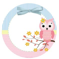 Lindo Búho Rosa: Etiquetas para Candy Bar para Imprimir Gratis. Clipart Baby, Cupcake Pictures, Theme Pictures, Music Wedding Invitations, Baby Shower Invitations, Crafts To Make, Crafts For Kids, Owl Always Love You, Bird Crafts