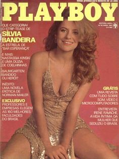 Playboy Brazil April 1983 Cover featured by Sílvia Bandeira