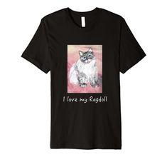 Whimsical, Wisdom, Portraits, Cat, Amazon, My Love, Mens Tops, T Shirt, Tee