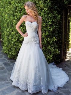 BEAUTIFUL!!! LOVE LOVE LOVE  Kenneth Winston Style 1493 Private Label By G  Panache Bridal