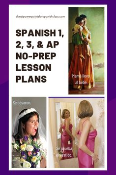 Hate lesson-planning but want your students to be engaged and proficient? Angie Torre's Spanish One, Two, Three, and AP Lesson Plans and Curriculum for an entire year does it all for you. Don't spend thousands of dollars on textbooks for your high school kids. This bundle gives you no-prep lesson plans, PowerPoints, INB and Google Drive activities, self-correcting tests, videos, digital versions and much more. Click here to see what else is included. #SpanishLessonPlans #TPRS #APSpanish