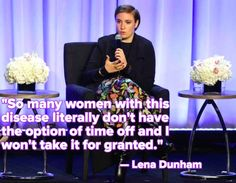 Lena Dunham Is Taking Time Off to Attend to Her Health, Shedding Light on a Wider Problem