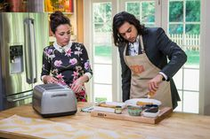 Abhi Sinha's Open Faced Breakfast Sandwich | Home & Family | Hallmark Channel