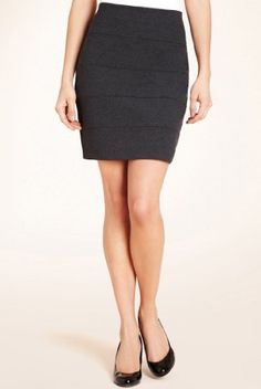 The Styling Up stylists recommend: Marks and Spencer: Layered Ponte Mini Skirt
