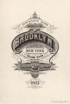 Brooklyn Fire Insurance Map