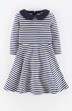 Mini Boden Texture Ponte Skater Dress (Toddler Girls, Little Girls & Big Girls) available at #Nordstrom