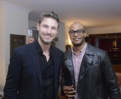Paul Sculfor (FordModels) at a cocktail reception hosted by Danny Lopez, HM Consul General in New York, to celebrate British menswear and to announce the Show Schedule for London Collections: Men