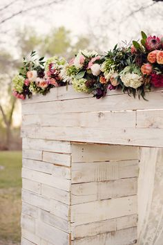 wedding alter ideas by @catherine gruntman Thompson as featured on @Judy Clark chicks
