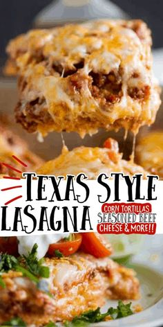 Texas Style Lasagna Meat Recipes, Mexican Food Recipes, Cooking Recipes, Lasagna Recipes, Kitchen Recipes, Easy Cooking, Recipies, Dinner Casserole Recipes, Dinner Recipes
