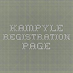 kampyle - registration page