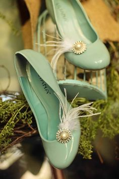34115037e41f Tiffany Blue Wedding Shoes Pendle Pendle Ascencio Covington these remind me  of you