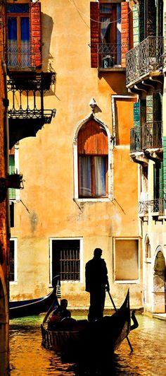 Veneza, na Itália.