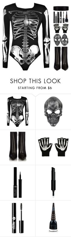 """6152"" by tiffanyelinor ❤ liked on Polyvore featuring Boohoo, Balenciaga, Hot Topic, Giorgio Armani, Givenchy, Charlotte Russe, Manic Panic NYC and Maison Margiela"