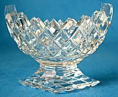 Punch Bowl Punch Bowl Set, Waterford Crystal, Pressed Glass, Finding Joy, Cut Glass, Diamond Shapes, Pedestal, Colored Glass, Waffles