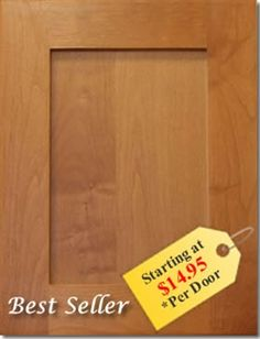 $7 finish yourself new cabinet doors to update kitchen with out ...