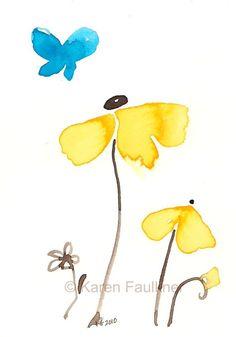 ❋ Aquarelle - Watercolor - Aquarela ❋ // karen faulkner
