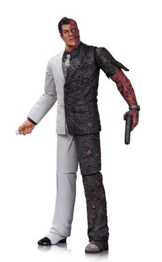 Batman - Arkham City Two-Face Figure. DC Collectibles Batman Arkham City Two-Face Action Figure . Batman Arkham City, Gotham City, Batman Comic Books, Batman Comics, Comic Book Heroes, Two Face Batman, Nerd Merch, Dc Comics Action Figures, Statues