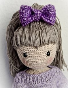 Puppe Emily - PDF Anleitung by WolltastischHandmade on Etsy https://www.etsy.com/listing/504489666/puppe-emily-pdf-anleitung
