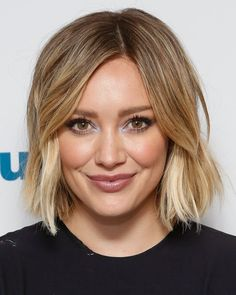 Pin for Later: 22 Blonde Bobs and Lobs to Inspire Your Summer Haircut Hilary Duff