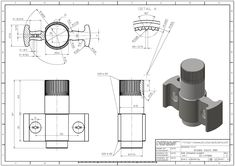 Autocad, Solidworks Tutorial, Cad Cam, 3d Drawings, Planer, Engineering, Floor Plans, Art, Draw