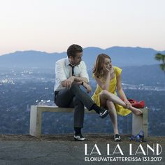 """""""We've stumbled on a view That's tailor-made for two What a shame those two are you and me"""" ✨  Kuuden Oscarin LA LA LAND nyt elokuvateattereissa              @nordiskfilmfinland"""