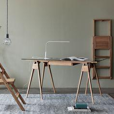 Design House Stockholm Arco Desk - Oak   Houseology