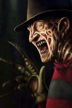 10 Modern Horror Gems You Can Stream Right Now — Strange Harbors Horror Movie Characters, Horror Movies, Freddy Krueger, Arte Pink Floyd, Scary Wallpaper, Horror Drawing, Horror Icons, Arte Horror, Creepy Art