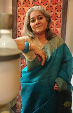 Byloom   Parsion sari. Silk with jamdani anchal; Rs 7000 Byloom Sarees, Jamdani Saree, Indian Sarees, Indian Fabric, Sari Silk, Blouse Designs, Yards, Heaven, Pure Products
