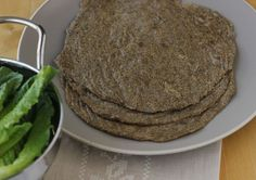Pliable, Gluten-Free Chia Tortillas/Wraps  1/2 cup chia seeds 1/3 cup raw buckwheat groats 1/2 cup ground flax seed 1/4 cup sorghum flour 2 cups warm water 1 teaspoon salt 2 tablespoons olive oil