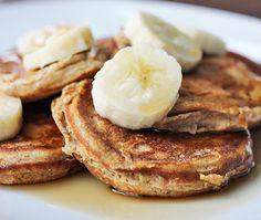 Recipe:+Skinny+Mini+Banana+Pancakes