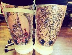 Disney Tattoos For Women Wolf Tattoos, Finger Tattoos, Thigh Tattoos, Tatoos, Trendy Tattoos, Unique Tattoos, Beautiful Tattoos, Tattoos For Women, Badass Tattoos