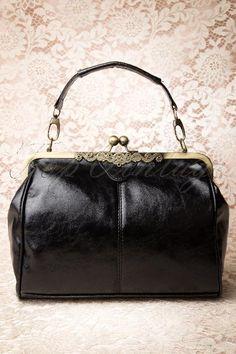 20s Vintage Frame Kisslock Clasp Bag