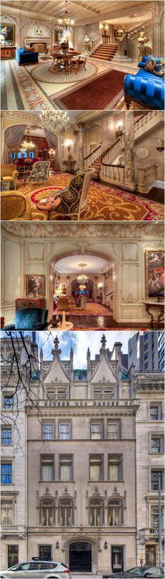 The Woolworth Mansion Off Fifth Avenue #newyork, #NYC, #pinsland, https://apps.facebook.com/yangutu