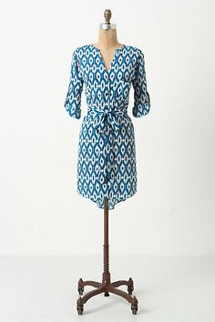 Ikat Frequencies Shirtdress #anthropologie