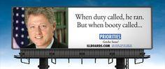 Bill Clinton - priorities