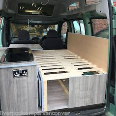 FIAT DOBLO VW CADDY PEUGEOT PARTNER MICRO CAMPERVAN CONVERSION FULLY FITTED.