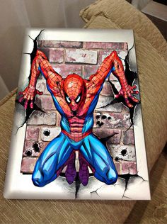 Spiderman Tattoo, Spiderman Drawing, Character Drawing, Character Design, Iron Man Drawing, Marvel Paintings, Marvel And Dc Superheroes, Marvel Coloring, Character Art
