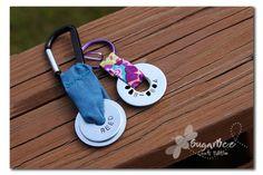 Stamped Washer Keychain