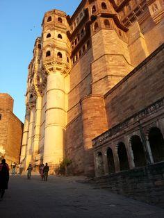 Mighty Mehrangarh Fort, Jodhpur, Rajasthan, India