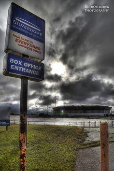 Abondoned Pontiac Silverdome Arena