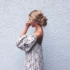 It's a messy bun kind of day.