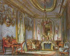 Boudoir der Königin Olga in der Villa Berg Stuttgart
