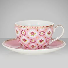 Buy PiP Studio Blossom Cup & Saucer, 0.3L, Pink Online at johnlewis.com £14