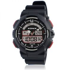 Best Children 8217 S Watches 2017 Xonix Nz Watch Dual Display Waterproof 100m